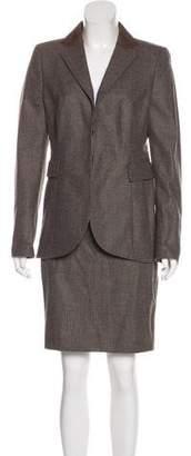Akris Wool Skirt Suit