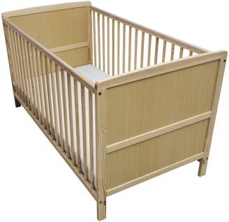 Kinder Valley Solid Pine Wood 2-in-1 Junior Cot Bed