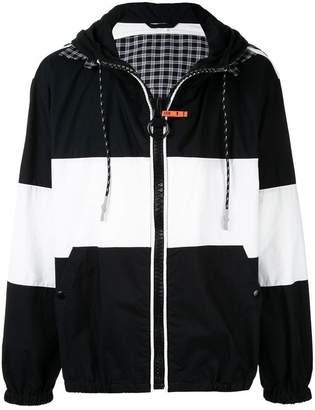 Puma Maison Yasuhiro Border Check bomber jacket