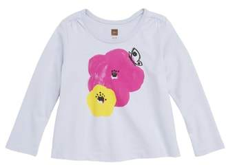 Tea Collection Painted Pop Flower Tee