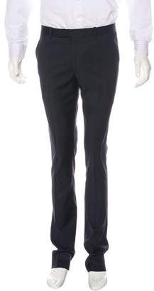 Band Of Outsiders Flat Front Wool Pants