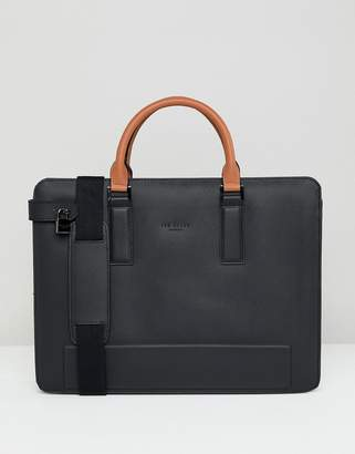 Ted Baker Stark document bag in leather