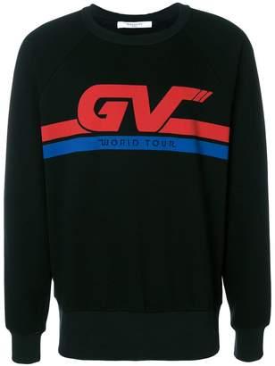 Givenchy colour-block logo sweatshirt
