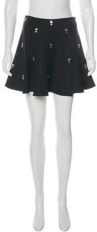Elizabeth And James Elizabeth and James Embellished Mini Skirt w/ Tags
