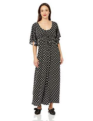22fa0183f Star Vixen Women's Petite Flutter Sleeve Empire Maxi Dress