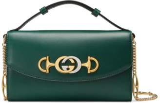 Gucci Zumi smooth leather mini shoulder bag
