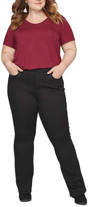 Boutique + + Comfort Waist Bootcut Jean - Plus