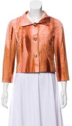 Prada Printed Button-Up Jacket