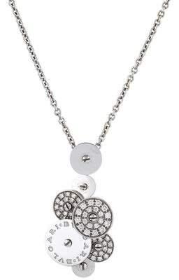Bvlgari 18K Diamond Cicladi Pendant Necklace