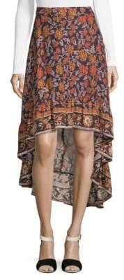 Raga Nostalgic Bliss Hi-Lo Skirt