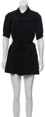 Just Cavalli Mini Pleated Dress
