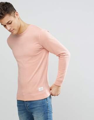 Solid Sweatshirt In Pink