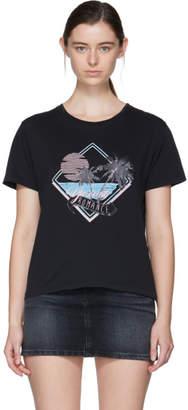 Saint Laurent Black Young Romance T-Shirt