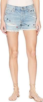 Lucky Brand Women's Low Rise Boyfriend Short Jean in