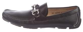 Salvatore Ferragamo Gancini Driving Loafers