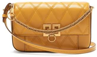 Givenchy Pocket Quilted Leather Cross Body Bag - Womens - Yellow