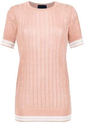 Andrea Bogosian knit blouse
