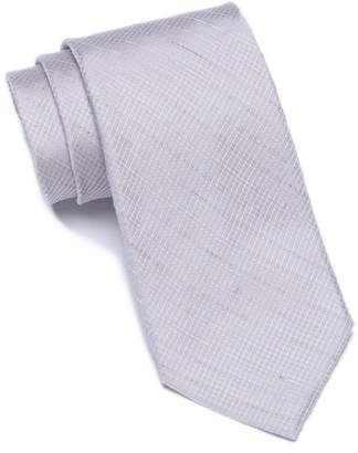 Calvin Klein Micro Gingham Tie