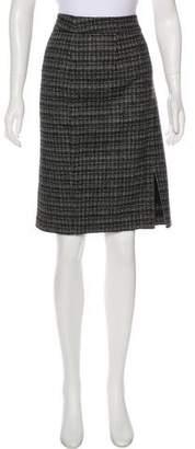Trina Turk Tweed Knee-Length Skirt
