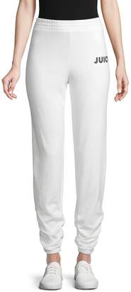Juicy Couture Ruched Fleece Pants