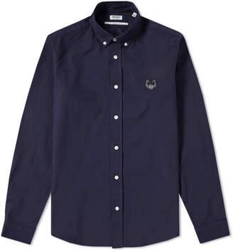 Kenzo Button Down Tiger Twill Shirt