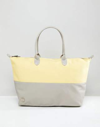 Mi-Pac Mi Pac Gym Weekender In Lemon