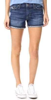 Joe's Jeans Markie Rolled Hem Shorts $118 thestylecure.com