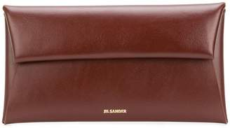 foldover top wallet - Brown Jil Sander Pookj