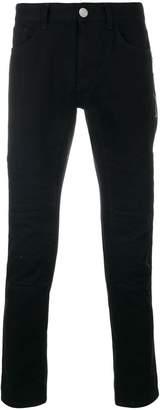 Versus stitched knee biker jeans