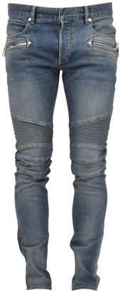 Balmain Jeans Biker Distressed