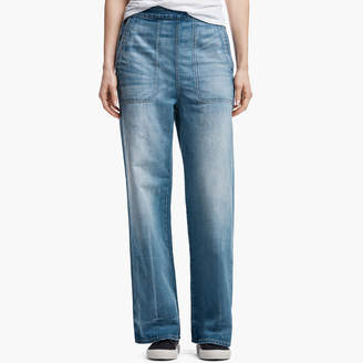 James Perse HIGH WAISTED DENIM PANT
