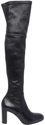 Luciano Padovan Stella Black Calf Boot
