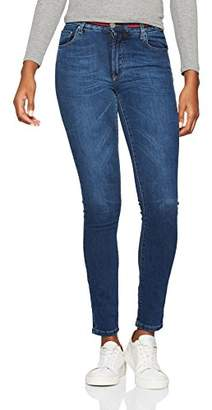 El ganso Women's 2020W170005 Straight Jeans, Blue (Denim), (Manufacturer Size: 40)