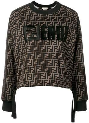 Fendi classic logo sweater
