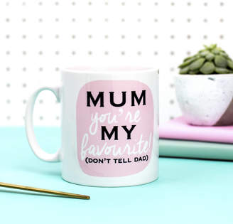 DAY Birger et Mikkelsen Harfields Design Mother's Gift 'Mum You're My Favourite' Mum Mug