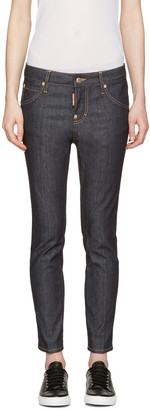 Dsquared2 Blue Cool Girl Jeans $465 thestylecure.com