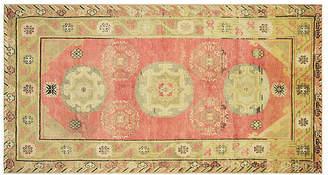 One Kings Lane Vintage Khotan Rug - 4'4 x 8'8