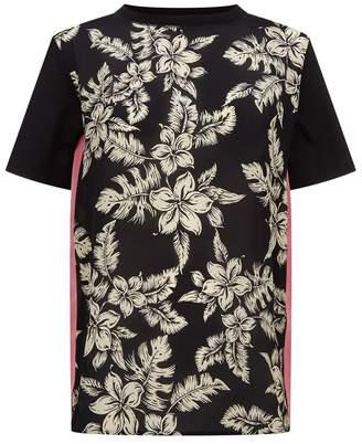 Moncler Tropical Flower Print T-Shirt