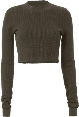 Cotton Citizen Monaco Crop Thermal Top