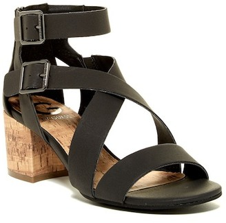 G by GUESS Evvy Caged Sandal $69 thestylecure.com