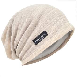 0558f4def62 HISSHEen Cool Beanie - Slouch Skull Cap - Thin Suer Hat CA018h