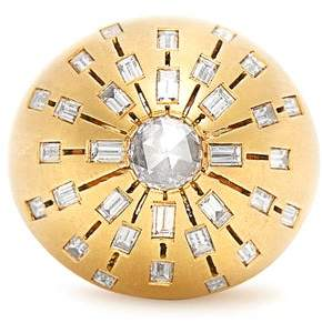 Susan Foster Diamond & Yellow Gold Ring - Womens - Yellow Gold