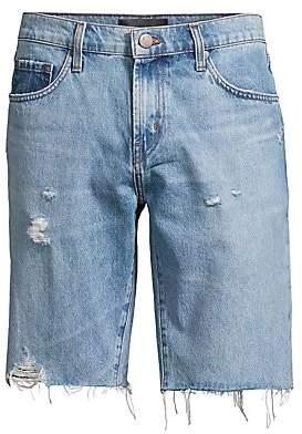 J Brand Men's Eli Cut-Off Denim Shorts