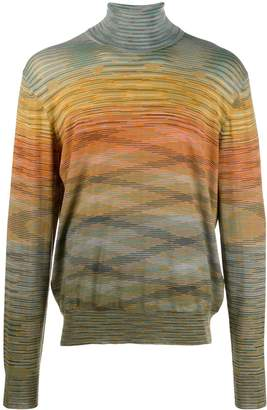 Missoni abstract striped jumper