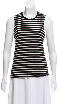 Reformation Striped Sleeveless Top
