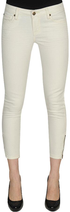 H81 Virginia Zip Ankle Skinny Color Jean