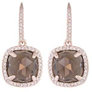 Bronzallure Pendant Earrings WSBZ00499.S Bronze Quartz