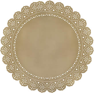 Ariana Ost Lace Doily Metal Placemat Charger (Set of 4)