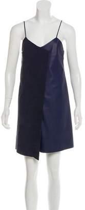 Veda Leather Mini Dress