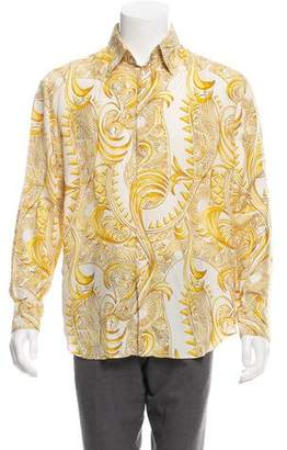 Gianni Versace Vintage Silk Shirt